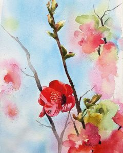 painting classes joondalup, watercolour classes joondalup, flower painting classes, art classes joondalup, painting classes northern suburbs perth, art classes clarkson wa
